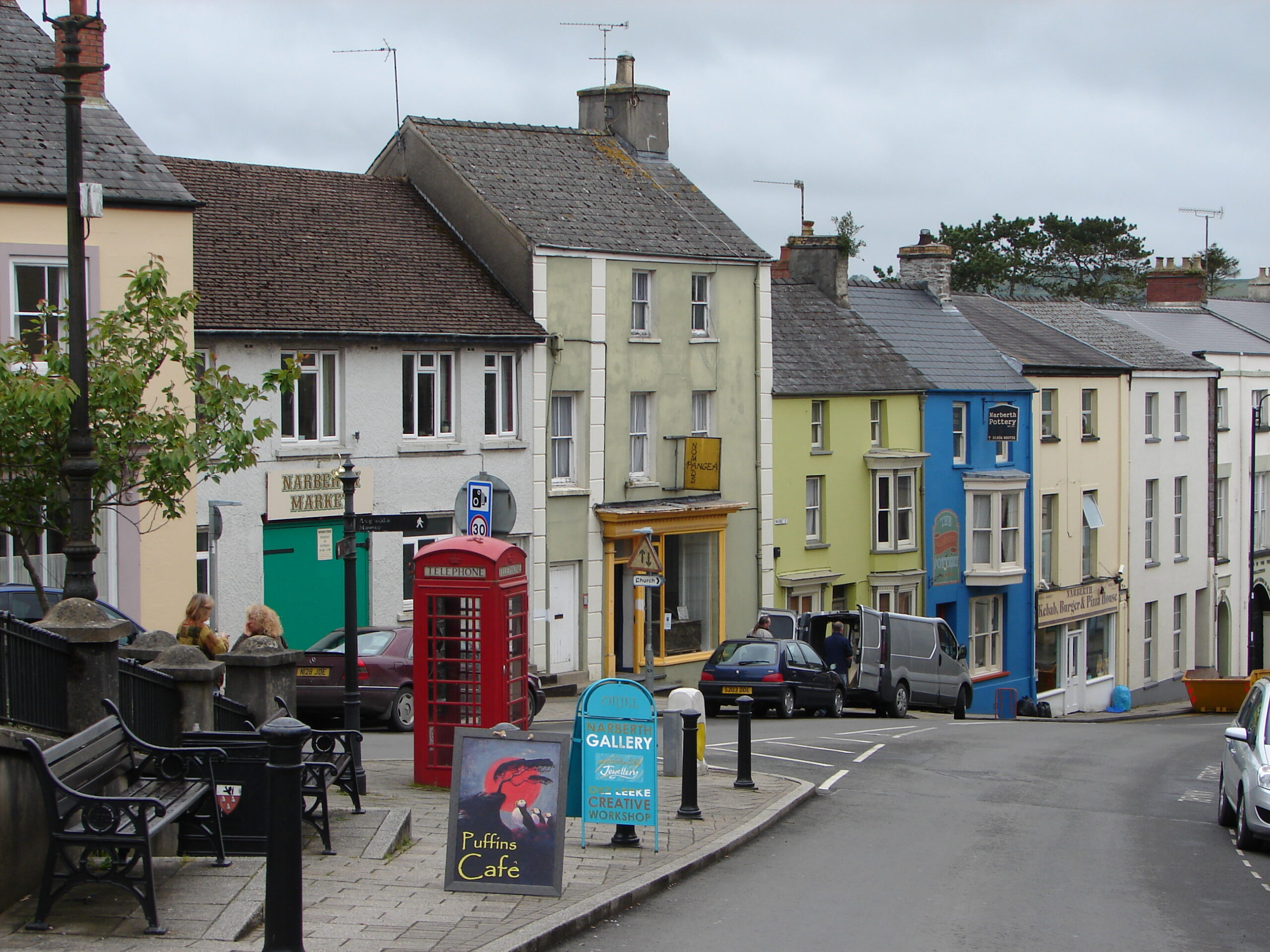Narberth Town High Street